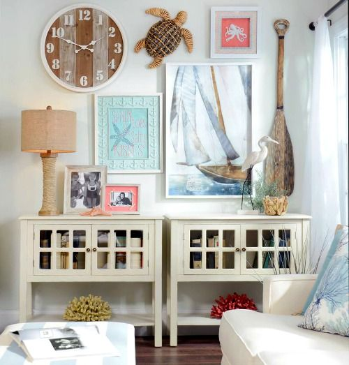 36 Breezy Beach Inspired Diy Home Decorating Ideas: Shop & DIY Images On Pinterest
