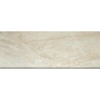Ms International Onyx Sand 3 In X 8 In Glazed Porcelain Bullnose Wall Tile Nonyxsand3x8bn At