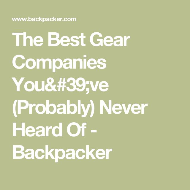 the best gear companies you u0026 39 ve  probably  never heard of