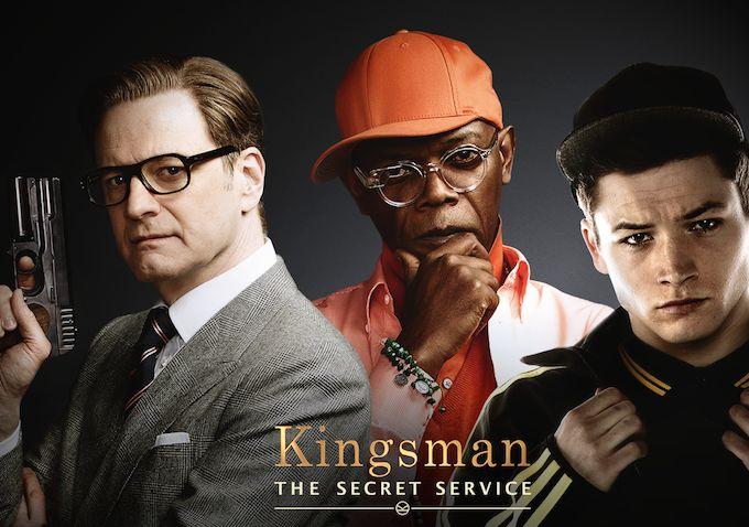 #Cinema #Kingsman #ColinFirth #SamuelLJackson #TaronEgerton