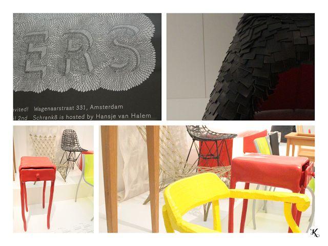 Knihařka - Stedelijk museum - furniture, poster, typography, texture