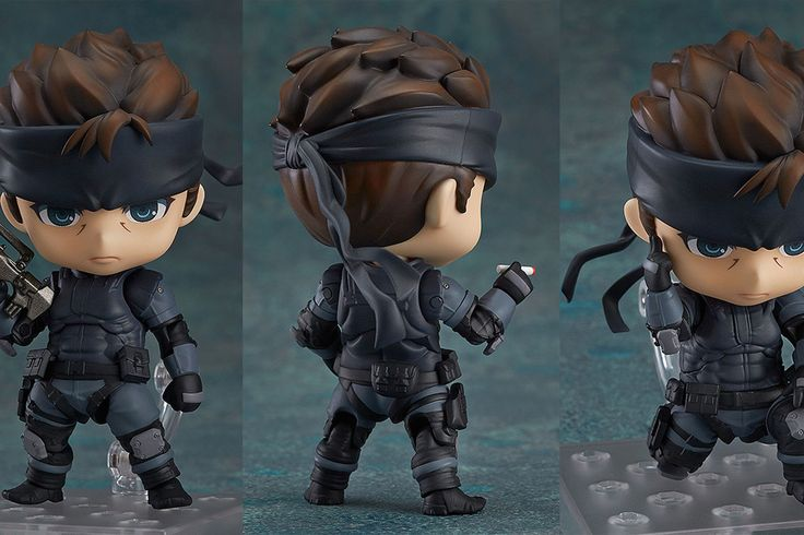 Solid Snake from Metal Gear Solid is the latest video game character to get the giant-headed, highly poseable and extremely cute action figure treatment in Good Smile Company's Nendoroid line of...