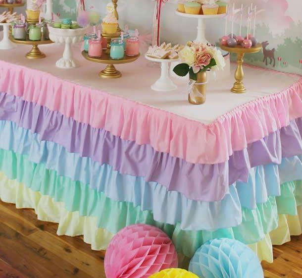 A mesa de docesdefesta infantil é um dos grandes atrativosem uma festa seja ela um aniversário infantil, casamento ou chá de bebê. Os doces são excelent