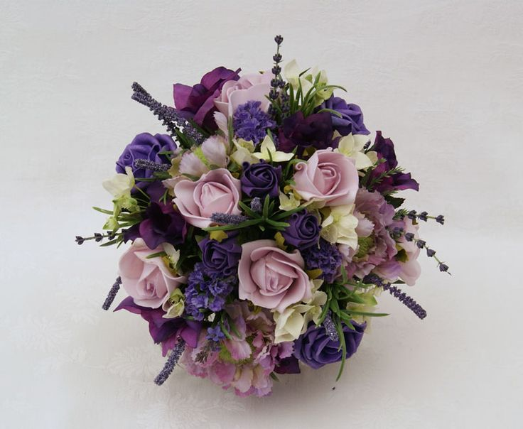 Artificial Purple Wedding Bouquets : Best images about lilac wedding on boys