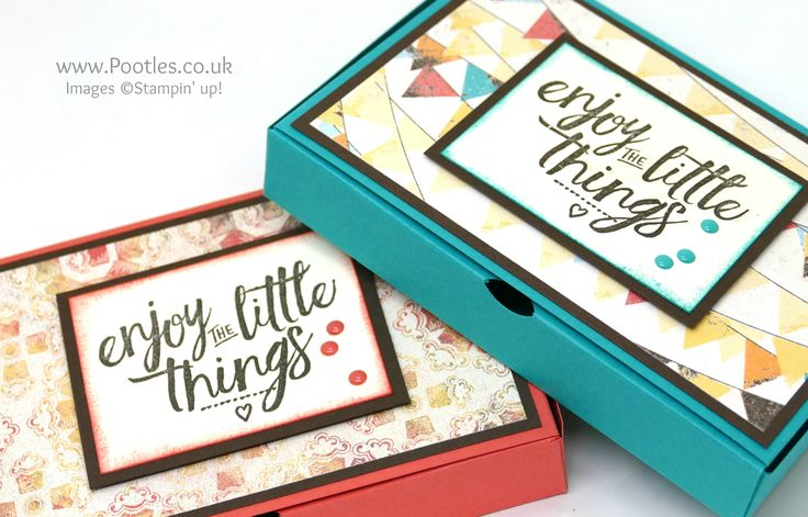 Stampin' Up! Demonstrator Pootles – No Glue Foldable Box Using Cupcakes & Carousels Spin then pin! Happy Wednesday everyone! Today I'm flying off to Amsterdam for the OnStage …