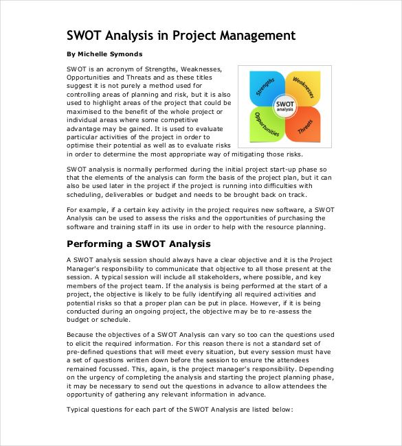 10 best Analysis Templates images on Pinterest Swot analysis, Free - project analysis