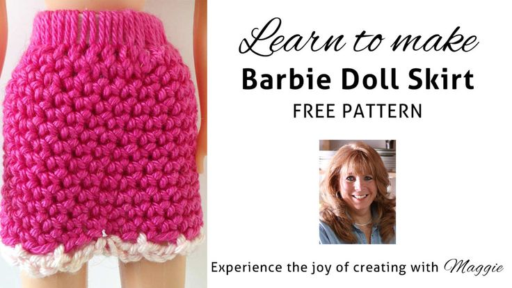Easy Crochet Doll Skirt Pattern : 592 best images about BARBIE CLOTHES on Pinterest ...