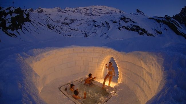 Oh-Elusive-Dream-NYE: The Igloo Village at Engelberg-Titlis, Switzerland