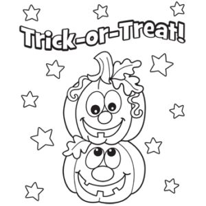 Awesome Halloween Coloring Pages