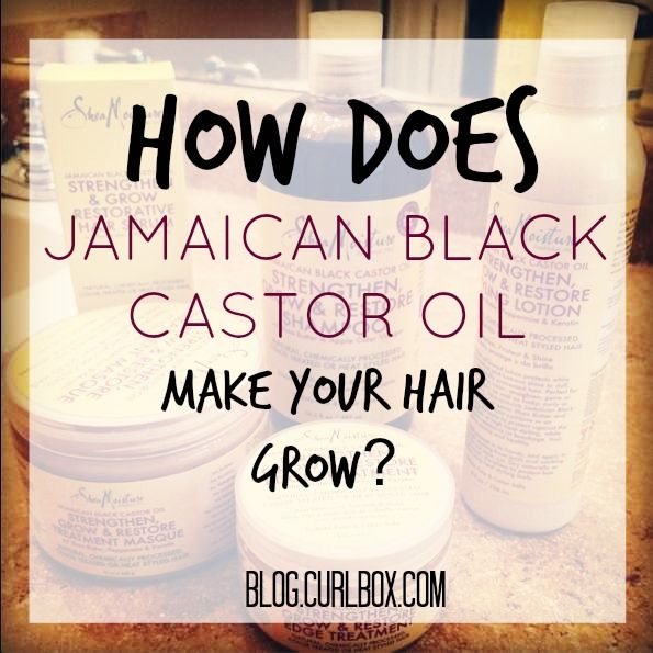 How does Jamaican Black Castor Oil Make your hair grow? - http://blog.curlbox.com/2014/09/25/how-does-jamaican-black-castor-oil-make-your-hair-grow/