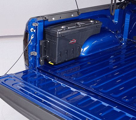 Swing Case Swinging Wheel Well Tool Box | Swing Box Truck Tool Box