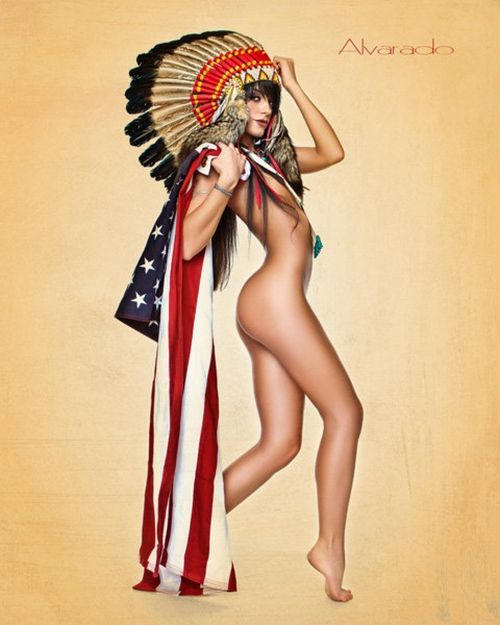 Photos Robert Alvarado  Indian Maidens are one of the origins of Pin Up, now they have their own board on http://thepinuppodcast.com