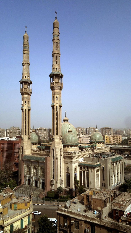 Al-Nour Mosque in Cairo