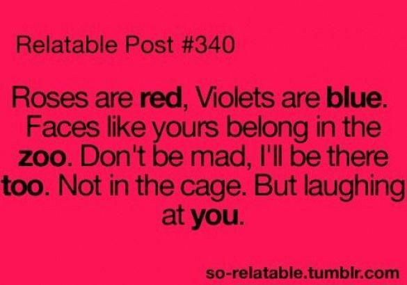 Funny Teenager Post Its Kinda Mean Aswell But Painfully