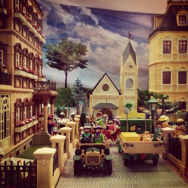 Escena de la vida cotidiana en la villa #playmobil
