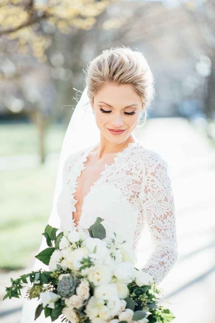 11+ Savory Hairlook Hairstyles Ideas  Wedding dress necklines