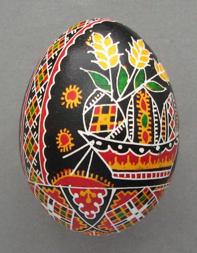 Pysanka Ukrainian Easter Egg <-- I think this is my favorite one thus far!