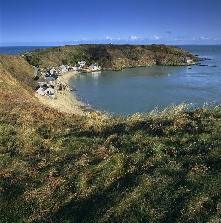 Porthdinllaen, on the Llyn Peninsula, Wales