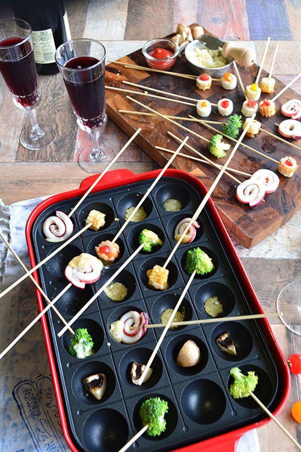 パルミジャーノフォンデュ たこ焼き器でわいわい親子パーティー by 青山清美(金魚) / レシピサイト「Nadia | ナディア」プロの料理を無料で検索