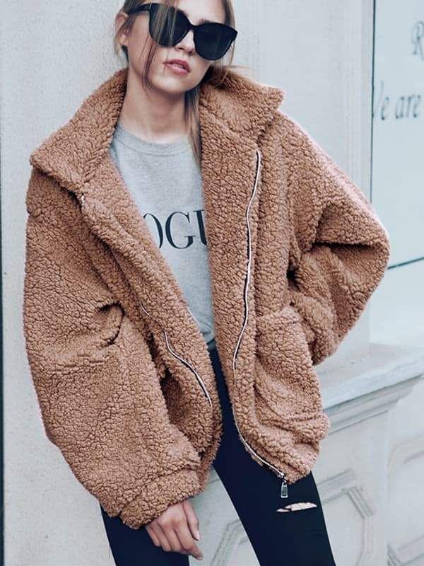 Boyfriend Winter Faux Coat 11