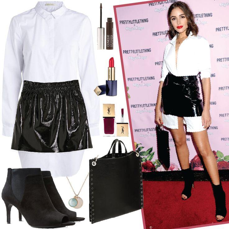 Outfit de la hermosa D'Olivia Culpo, perfecto para salir de fiesta con tus amigas en la noche