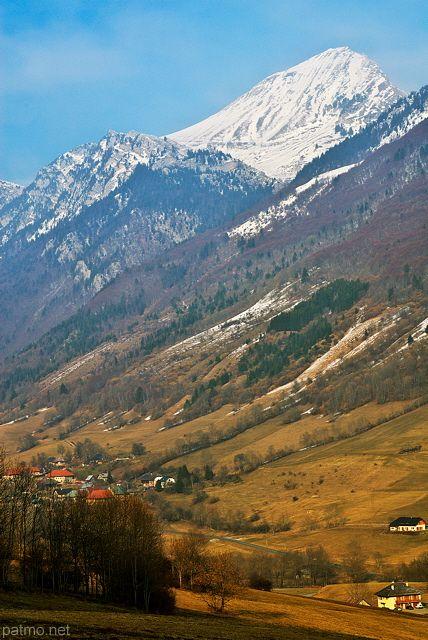 Montagnes du Massif des Bauges - Savoie (France) - phot. Patrick Morand.
