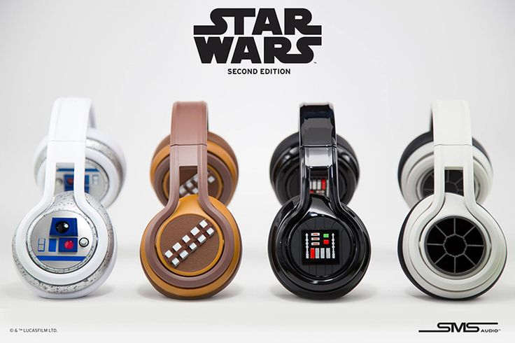 Star Wars Headphones http://amzn.to/2aoJl64