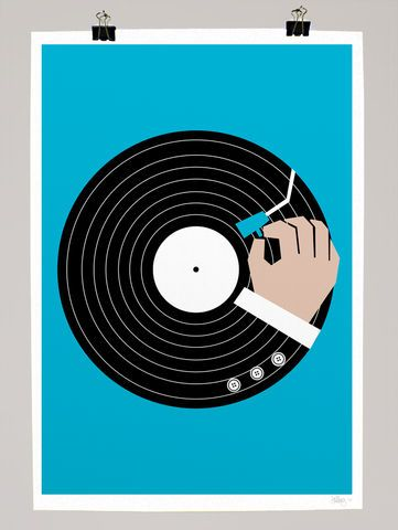 Music,Business,dale, edwin, murray, print, music, business, limited edition, exclusive, art, vinyl, record