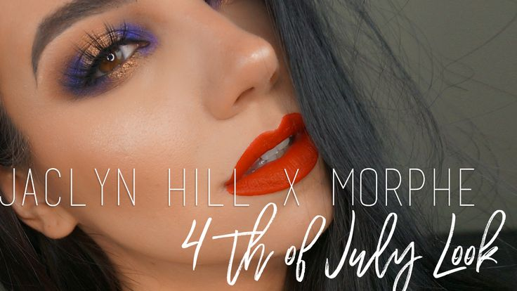 Jaclyn Hill Morphe Palette Review 4th of July Tutorial