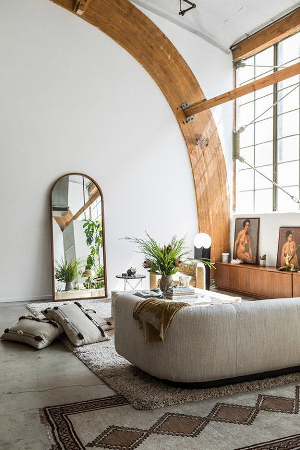 13 Rooms Rocking The Curved Furniture Trend Hunker In 2020 Curved Furniture Furniture Trends Decor #trends #in #living #room #furniture