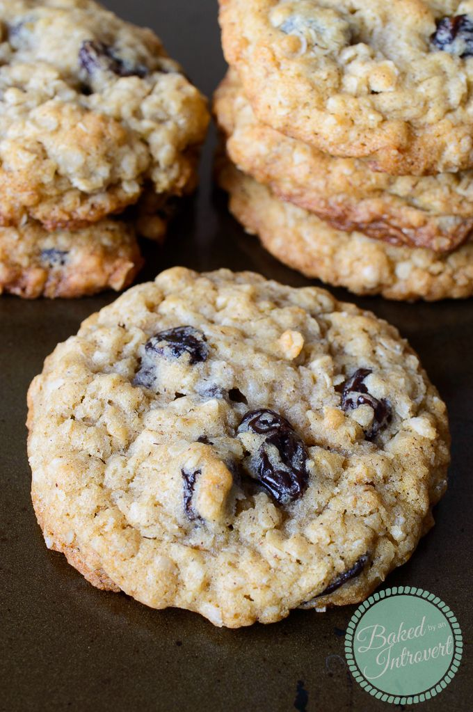Perfect oatmeal cookies recipe
