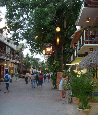 My favorite thing about Playa Del Carmen - 5th Avenue. Blocks and blocks of shops, bars, and restaurants.