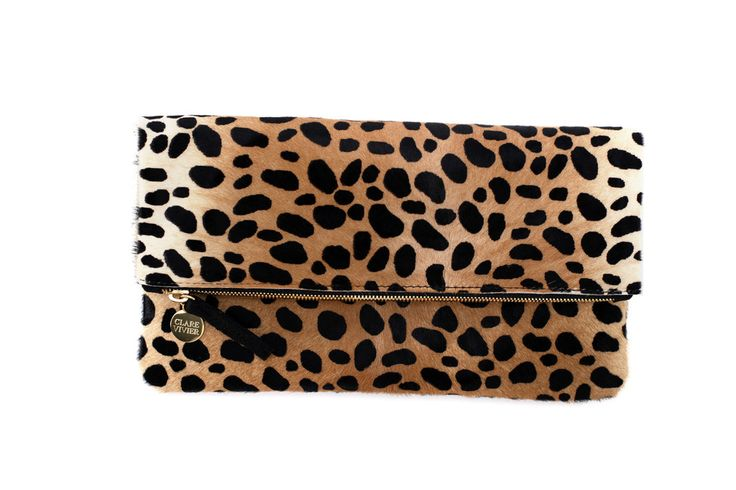 Clare Vivier foldover clutch - my fave new clutch...pretty sure I will be purchasing more of these!!