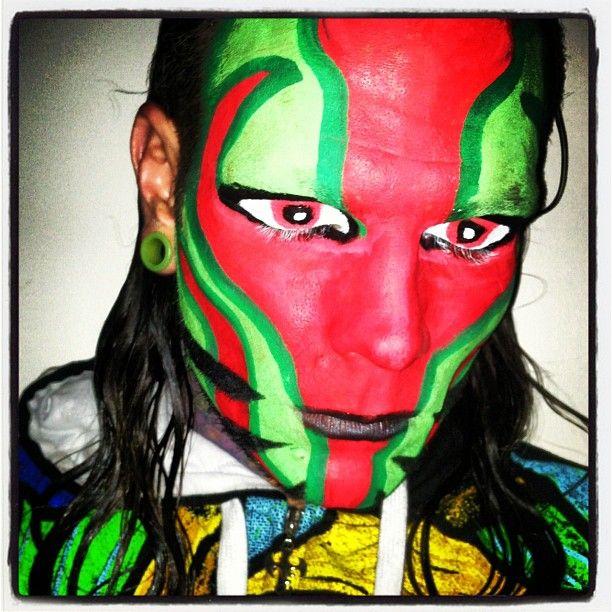 Jeff Hardy Red Face Paint wwe jeff hardy on pinterest jeff hardy, jeff
