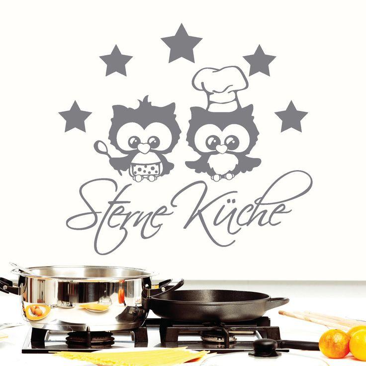 Wandtattoo Chefkoch - Mütze Wandtattoo Küche Kochen, Würzen
