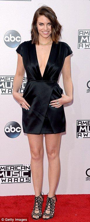Lauren Cohan of The Walking Dead looks very much alive!!!