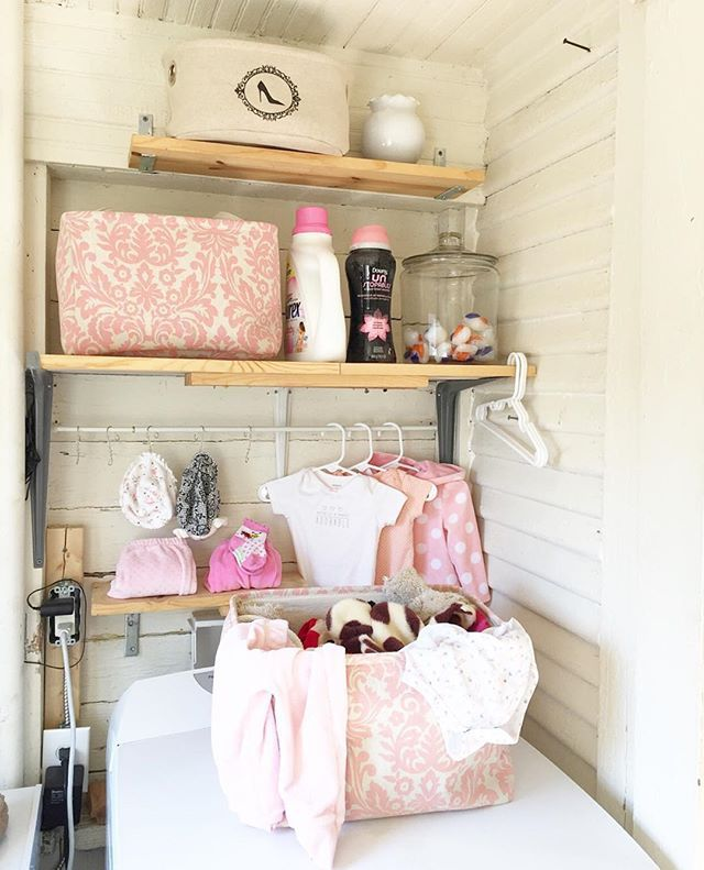 Pink Laundry room #COEhome