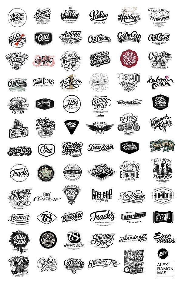 Just a logos compilation oby Alex Ramon Mas Designs