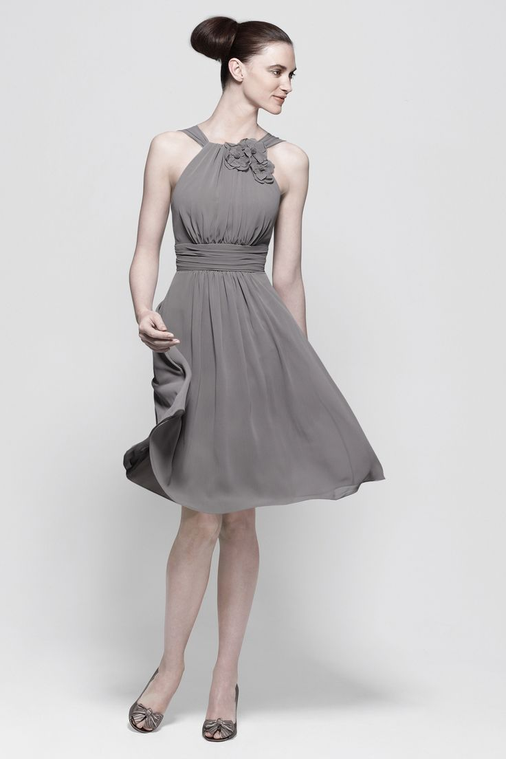 Bridesmaid Dress - in falcon (also available in goldenrod, daffodil, and stone; different dress styles, including strapless options 7594, 9539, 3535, 4518, 4510) $70
