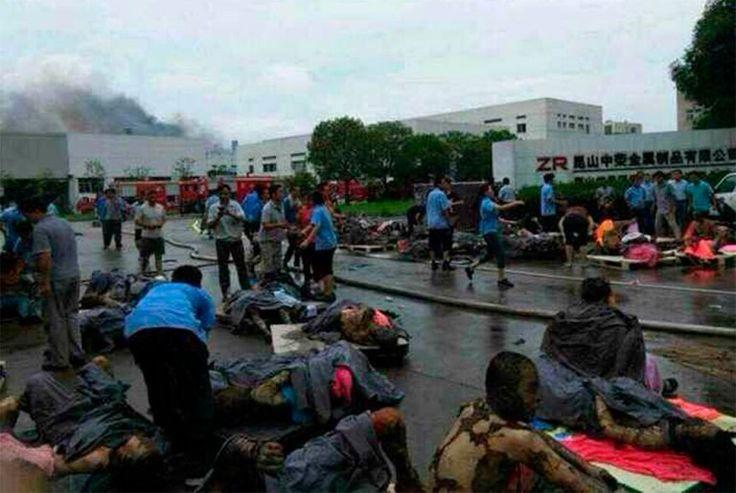 Fábrica ilegal explota causando 16 muertos en la India - http://notimundo.com.mx/mundo/fabrica-ilegal-explota-causando-16-muertos-en-la-india/20144