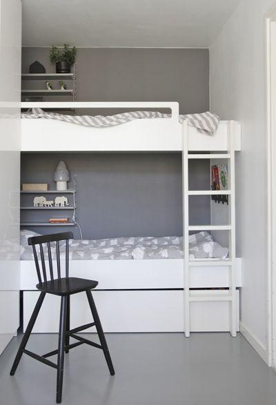10 Habitaciones infantiles con un toque gris - DecoPeques