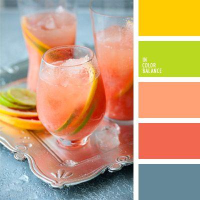 celeste, color amarillo limón, color celeste, color rojo langosta, color salmón, color verde lima, combinación de colores para decorar interiores, coral, coral suave, selección de colores para el diseño de interiores.