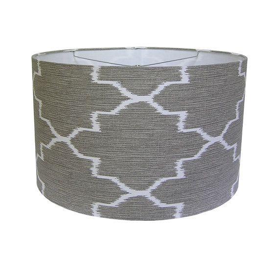 Drum Pendant Shade Dining Table Shade Large Lamp by #CruelMountain, $100.00