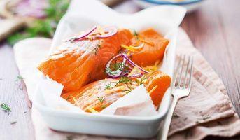 Cuisson de saumon congelé