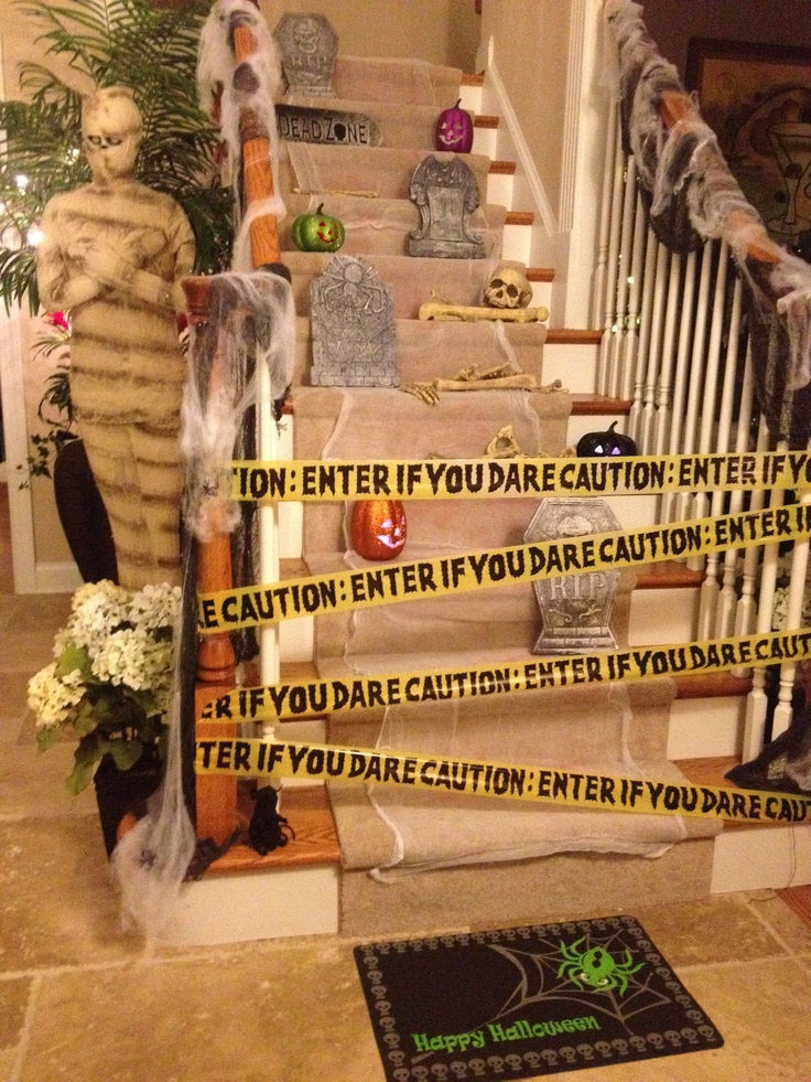 57 best Halloween Staircase / Stairs images on Pinterest ...