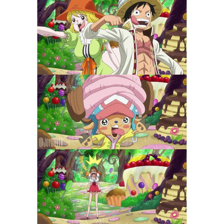 One Piece Whole Cake Island Episodes