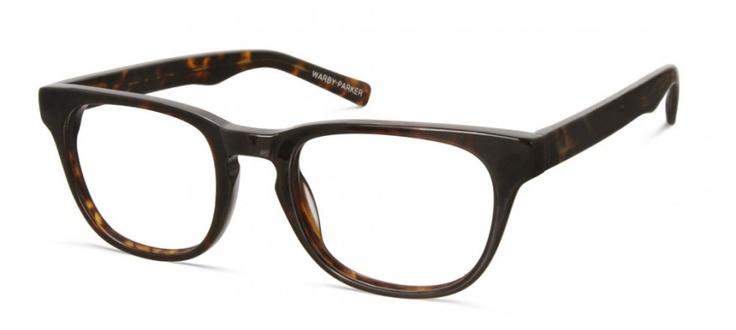 Preston Whiskey Tortoise by Warby Parker