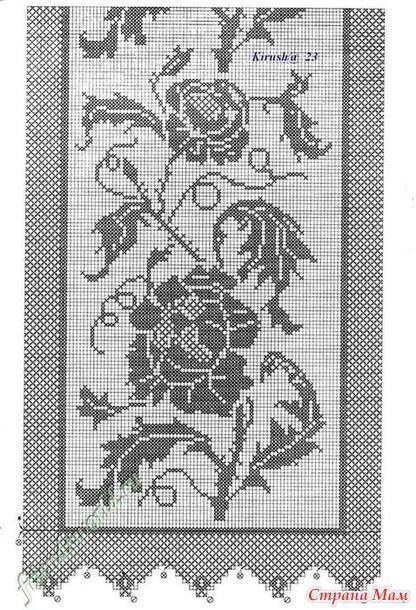 Добрый день... листая страницы интернета нашла схемы для салфеток крючком, может быть кому-то пригодятся. Мотивы из роз и цветов, филейное вязание. Буду очень рада если кому то пригодятся.