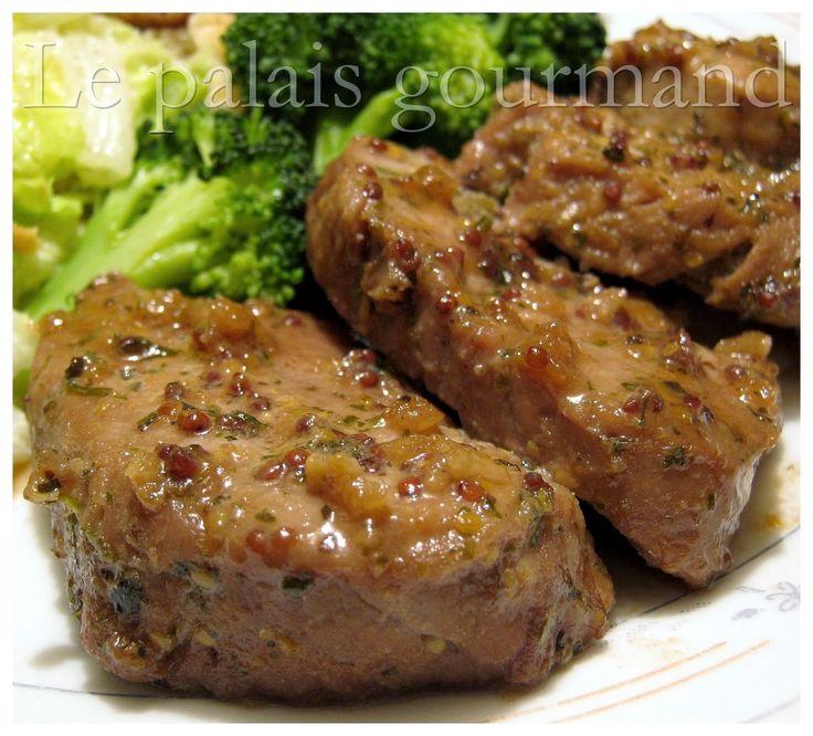 Un bon filet que j'ai fais pour le souper chez ma soeur, la viande était tendre et de bon goût. J'ai pris la recette sur la page Facebook...