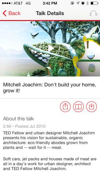 Download the TED app to access all TEDTalks in over 90 languages! https://itunes.apple.com/us/app/ted/id376183339?mt=8